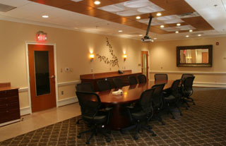 Q-Design Architecture - Interiors - Hope Center for Advanced Veterinary Medicine Boardroom - Commercial Architecture - Hampton Roads - QDesign Q Design