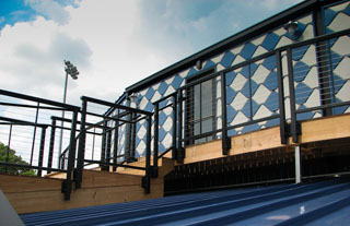 Q-Design Architecture - Markoff Addition and Renovation War Memorial Stadium - Commercial - Hampton Roads - QDesign Q Design