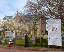 St. John's Church - Hampton, VA - QDesign Architecture - Fort Monroe, Virginia